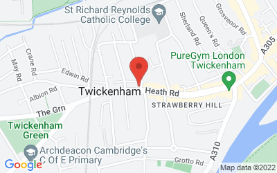 Map of Twickenham Branch