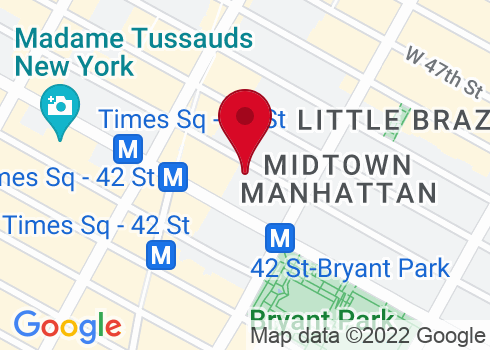 Stephen Sondheim Theatre Google Maps Location