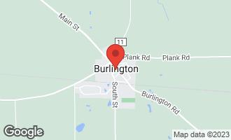 Map of 124 North Main Street BURLINGTON, IL 60109