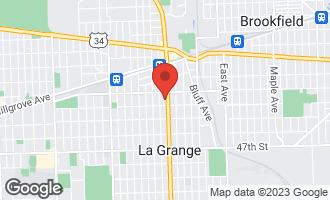 Map of 124 South La Grange Road LA GRANGE, IL 60525