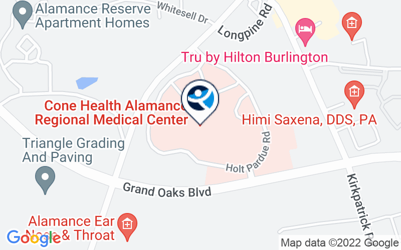 Alamance Regional Medical Center Location and Directions