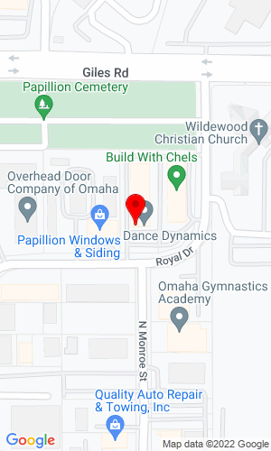 Google Map of Starman Bros. Auctions Inc. 1240 Royal Dr., Papillion, NE, 68046