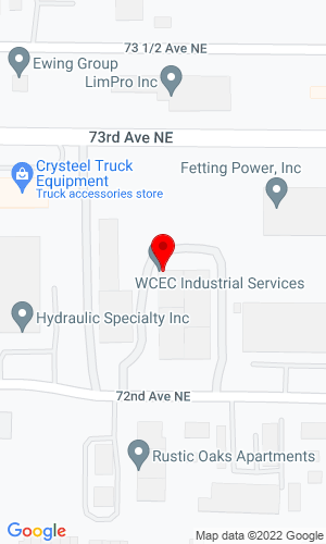 Google Map of Determan Brownie Inc 1241 72nd Ave. NE, Fridley, MN, 55432