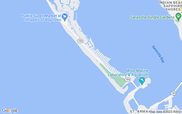 1241 Gulf Of Mexico Dr #801 Longboat Key Florida 34228 locatior map