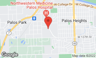Map of 12410 South Mccarthy Road PALOS PARK, IL 60464
