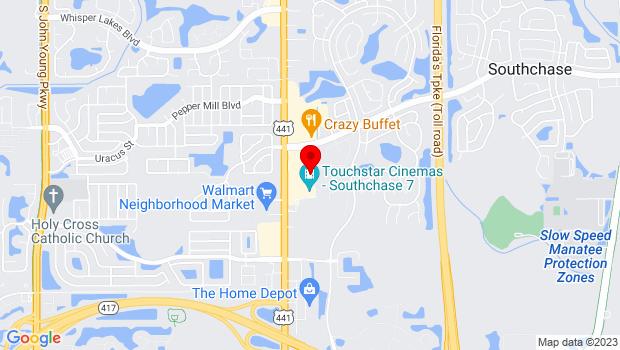 Google Map of 12427 S. Orange Blossom Trail , Orlando, FL 32837