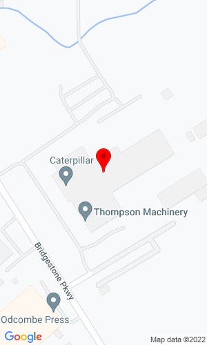 Google Map of Thompson Machinery 1245 Bridgestone Blvd, LaVergne, TN, 37086