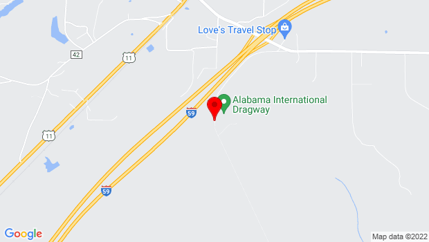 Google Map of 1245 Crump Rd, Steele, AL 35987