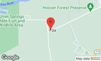 Map of 12475 Fox Road YORKVILLE, IL 60560