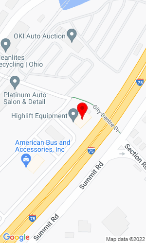 Google Map of 125 Citycentre Drive, Suite 101+Cincinnati+OH+