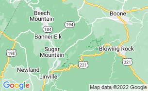 Map of Grandfather Mountain Campground