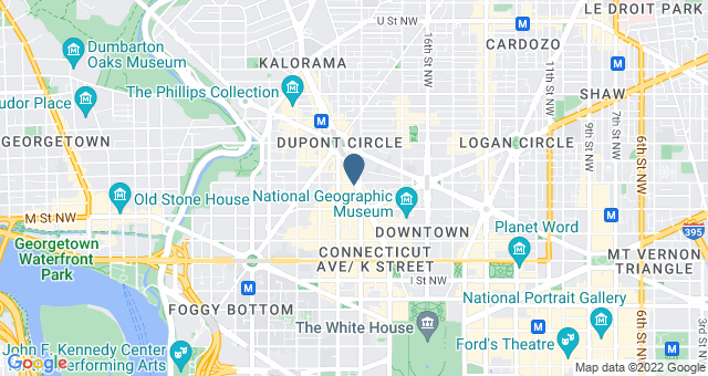 1250 Connecticut Avenue, NW, Suite 825 Washington, DC 20036 United States