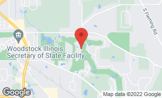 Map of 1250 Galloway Drive WOODSTOCK, IL 60098