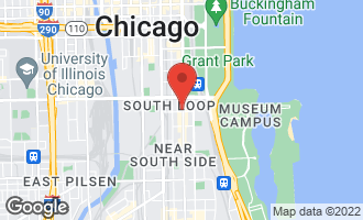 Map of 1250 South Michigan Avenue #1802 CHICAGO, IL 60605