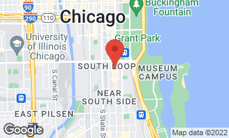 Map of 1250 South Michigan Avenue #2501 CHICAGO, IL 60605