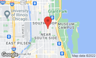 Map of 1250 South Michigan Avenue P-280 CHICAGO, IL 60605