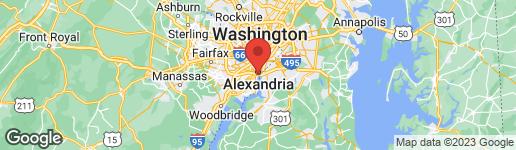 Map of 1250 WASHINGTON STREET S #103 ALEXANDRIA, VA 22314