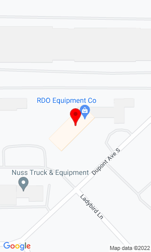 Google Map of RDO Equipment Company 12500 DuPont Avenue South, Burnsville, MN, 55337