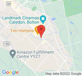 Google Map of 12500+Highway+50%2CBolton%2COntario+L7E+1M7