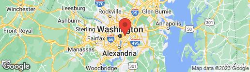 Map of 1253 16TH STREET NE WASHINGTON, DC 20002