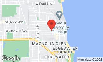 Map of 1257 West Granville Avenue 2E CHICAGO, IL 60660