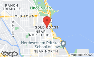 Map of 1260 North Astor Street 11N CHICAGO, IL 60610