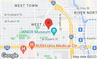 Map of 1260 West Washington Boulevard #204 CHICAGO, IL 60607