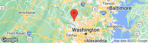Map of 12614 HIGH MEADOW ROAD GAITHERSBURG, MD 20878
