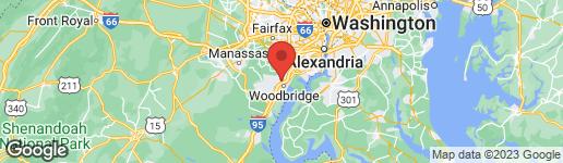 Map of 12658 DARA DRIVE #102 WOODBRIDGE, VA 22192