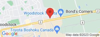 Google Map of 1267+Dundas+Street%2CWoodstock%2COntario+N4S+0B1