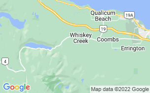 Map of Whiskey Creek RV Campground