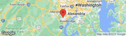 Map of 12706 BEDFORD GLEN WAY WOODBRIDGE, VA 22192