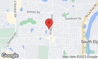 Map of 1273 Sandhurst Lane B SOUTH ELGIN, IL 60177