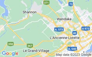 Map of Relais Camping De La Montagne