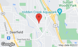 Map of 1274 Sherwood Road HIGHLAND PARK, IL 60035