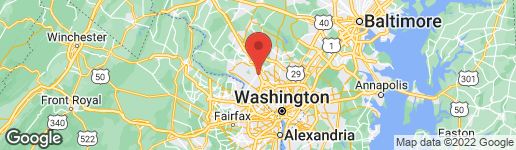 Map of 1275 BARTONSHIRE WAY ROCKVILLE, MD 20854