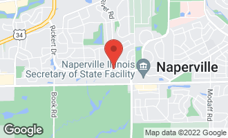 Map of 1276 Tennyson Lane #1276 NAPERVILLE, IL 60540