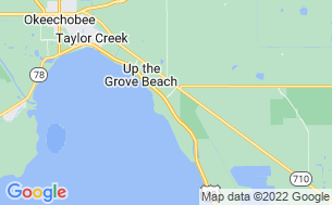 Map of Water's Edge Motor Coach  & RV Resort