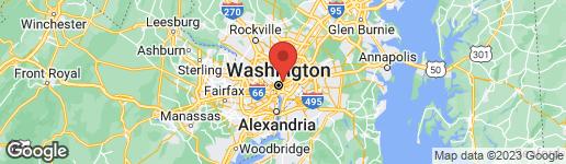 Map of 128 W STREET NW WASHINGTON, DC 20001