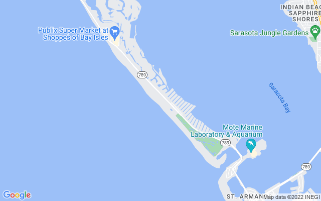 1281 Gulf Of Mexico Dr #1007 Longboat Key Florida 34228 locatior map