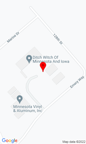 Google Map of Ditch Witch of Minnesota & Iowa 12826 Emery Way, Shakopee, MN, 55379