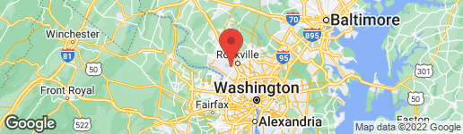 Map of 12832 HUNTSMAN WAY POTOMAC, MD 20854
