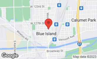 Map of 12833 Western Avenue Blue Island, IL 60406