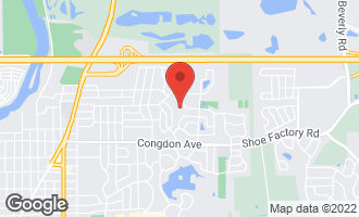Map of 1286 Christopher Court ELGIN, IL 60120