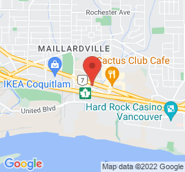 Google Map of 1288+Lougheed+Highway%2CCoquitlam%2CBritish+Columbia+V3K+6S4