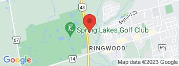 Google Map of 1288+Millard+Street%2CStouffville%2COntario+L4A+0W7