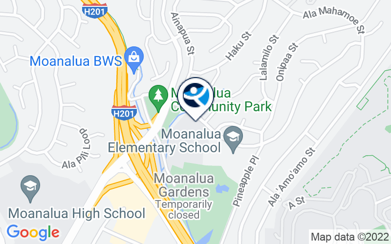 YMCA of Honolulu Moanalua Middle School Location and Directions