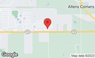 Map of 1289 Da Vinci Drive HAMPSHIRE, IL 60140