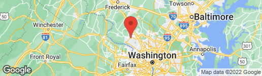 Map of 12905 DARNESTOWN ROAD GAITHERSBURG, MD 20878