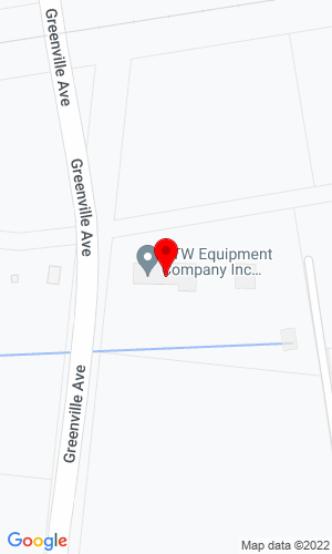 Google Map of CTW Equipment Company 1294 Greenville Ave, Williamston, NC, 27892